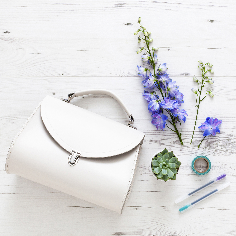 Six Uplifting Reminders to Motivate and Inspire | natashadenness.co.uk | (photo of a white handbag)