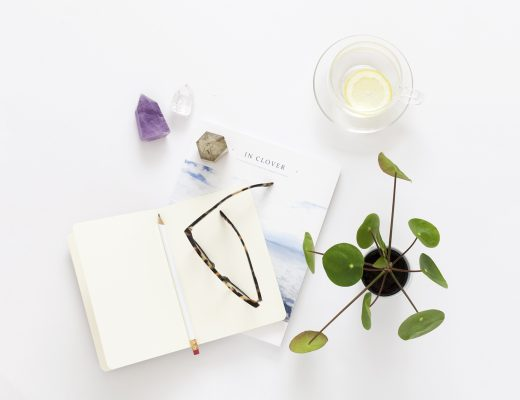 Useful Business Tips from Successful Creatives | office flat lay image | natashadenness.co.uk