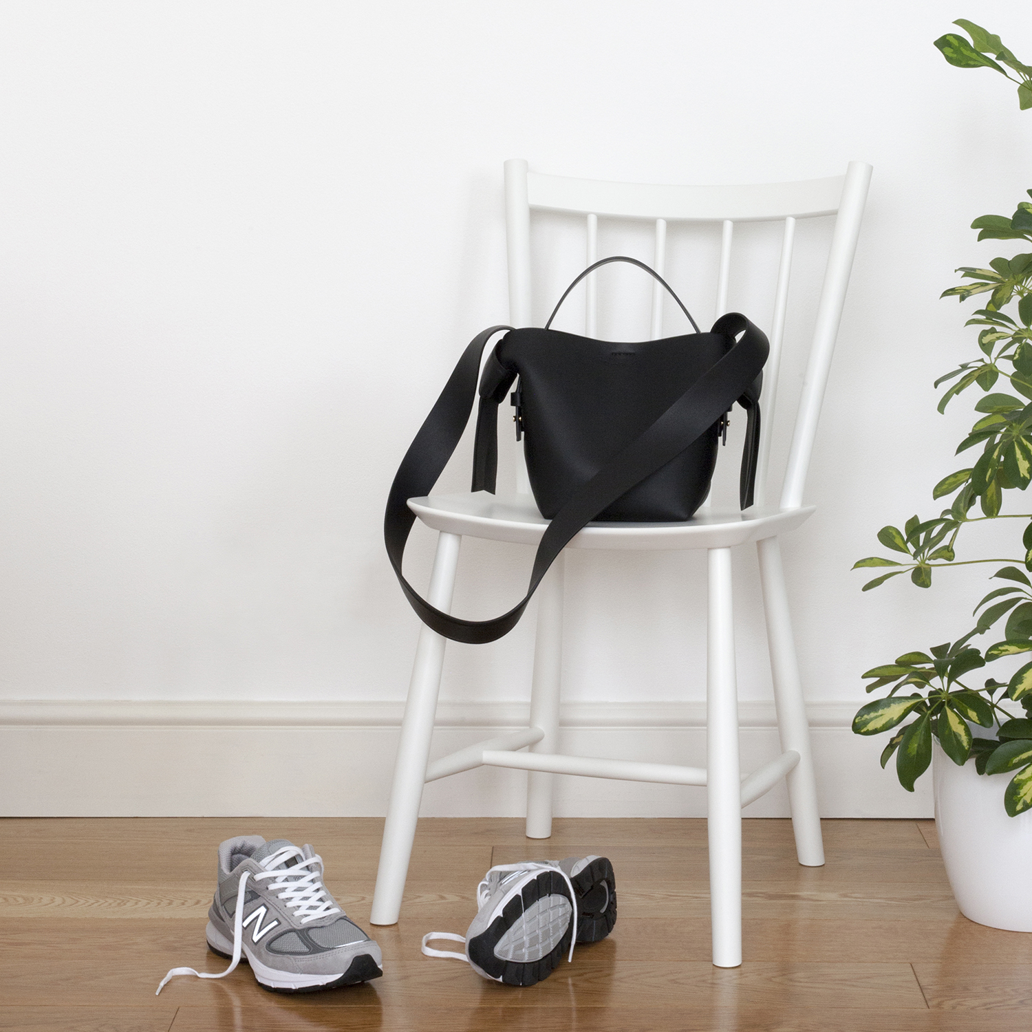 Identify your passions and do more of what you love - Natasha Denness Coaching (photo of a chair, bag and trainers)